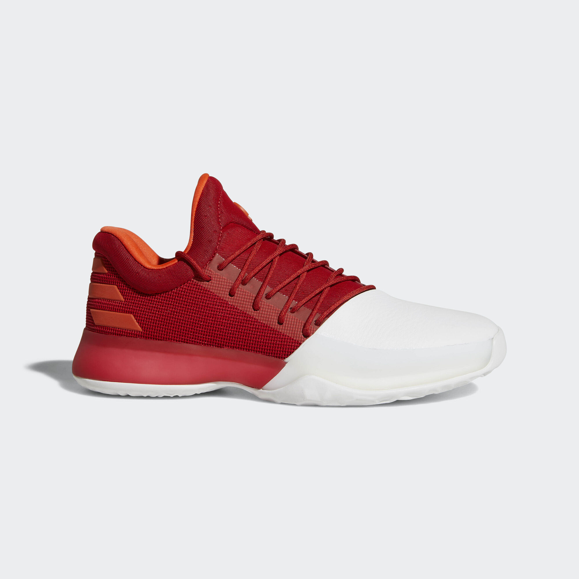 adidas basketball shoes white red