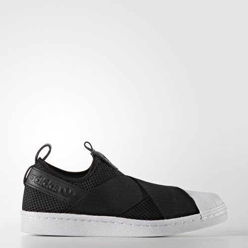 adidas - Superstar Slip-on Shoes Core Black  /  Core Black  /  Running White BY2884