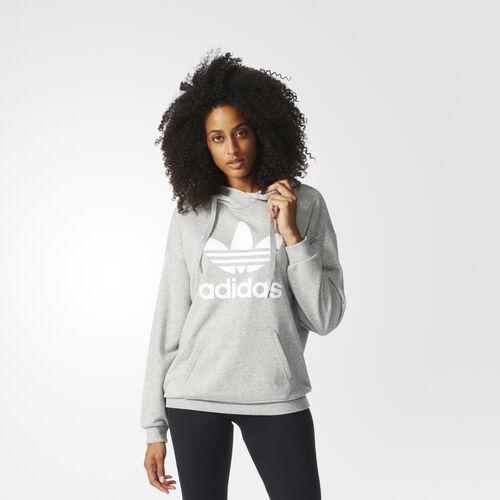 adidas - Trefoil Hoodie Medium Grey Heather BK7141