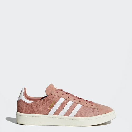 adidas - Campus Shoes Raw Pink  /  Running White  /  Chalk White BY9841