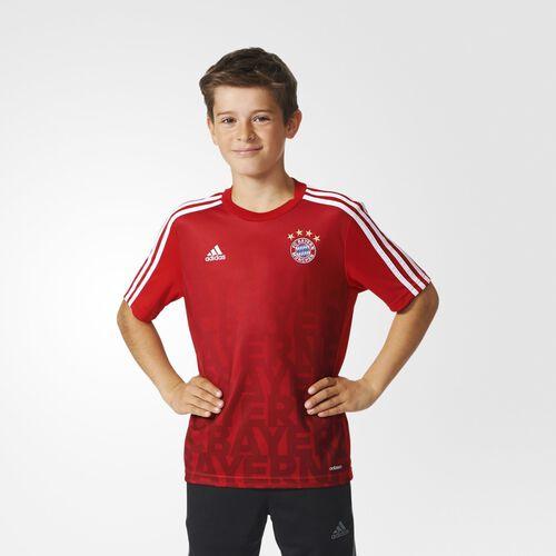 adidas - FC Bayern Home Pre-Match Shirt Fcb True Red  /  Craft Red  /  White AC3885