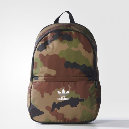 adidas - Camouflage Essentials Backpack Multicolor AY7760