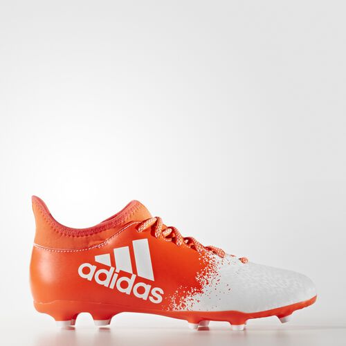 adidas - X16.3 Firm Ground Cleats Solar Red  /  Running White  /  Infrared AQ6436