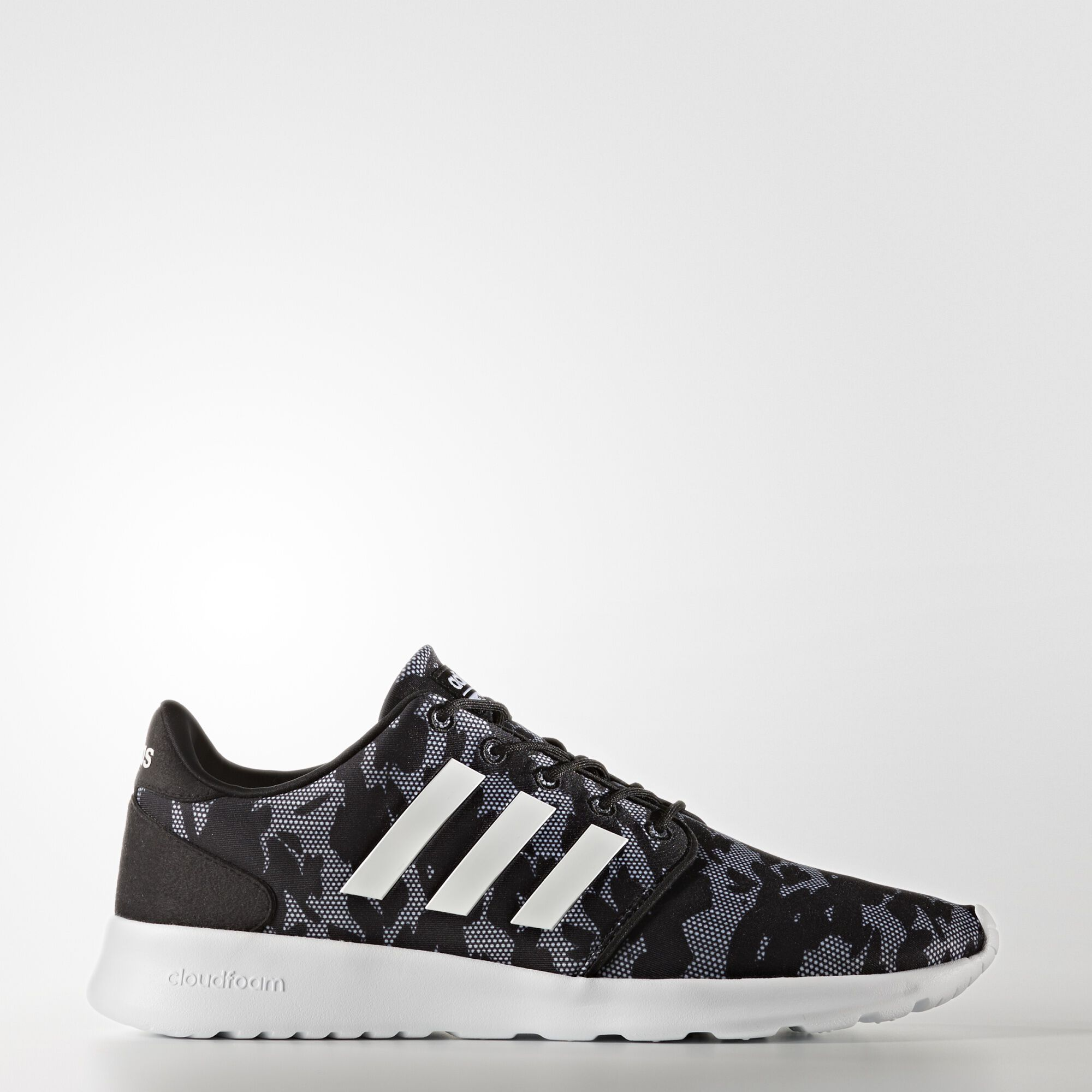 adidas cloudfoam qt racer shoes black adidas us. Black Bedroom Furniture Sets. Home Design Ideas