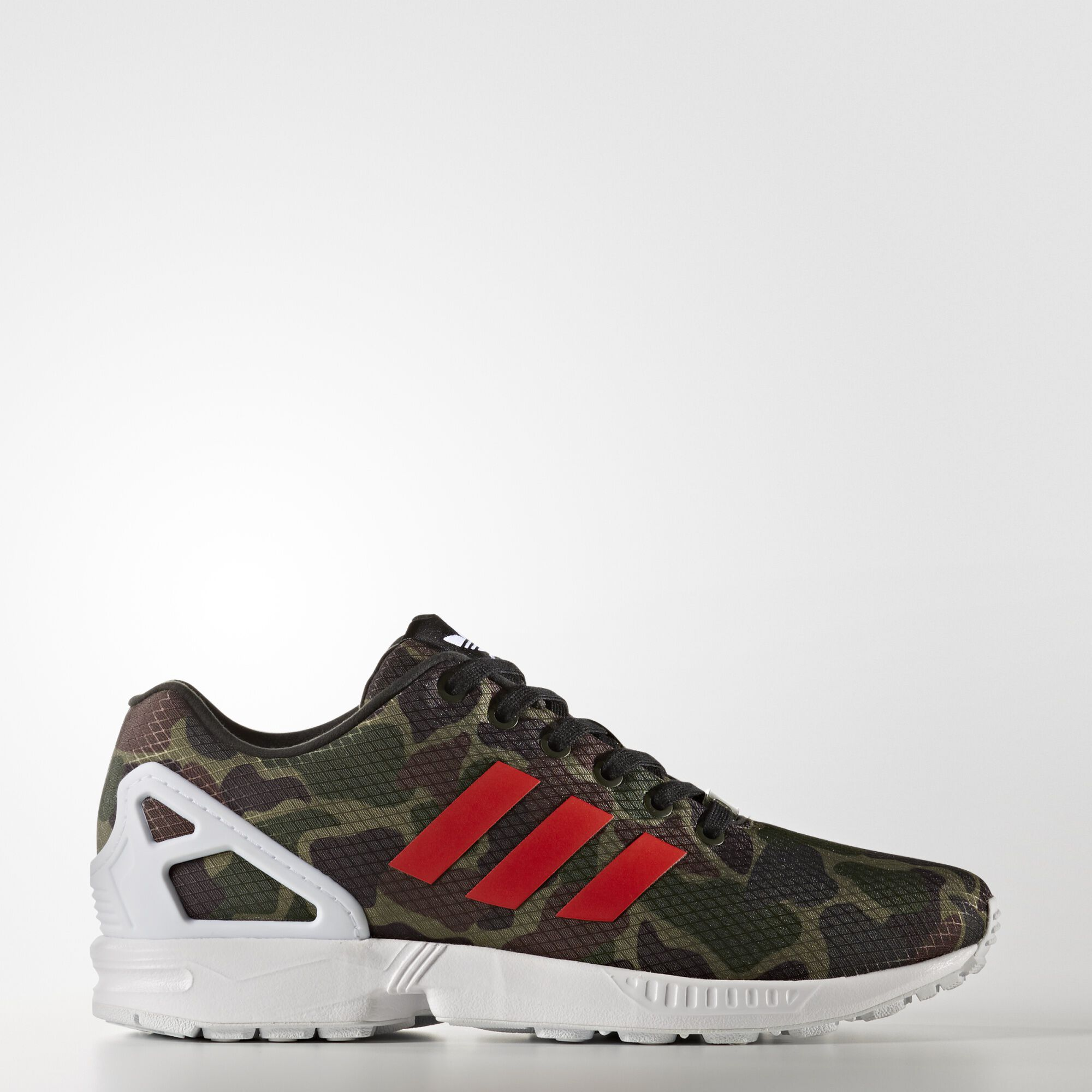 Adidas Zx Flux White And Rainbow