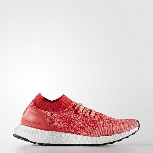 adidas - Ultra Boost Uncaged Shoes Ray Red  /  Shock Pink BA8296