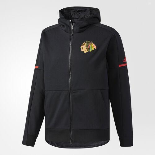 adidas - Blackhawks Pro Squad ID Hoodie Black CC8823
