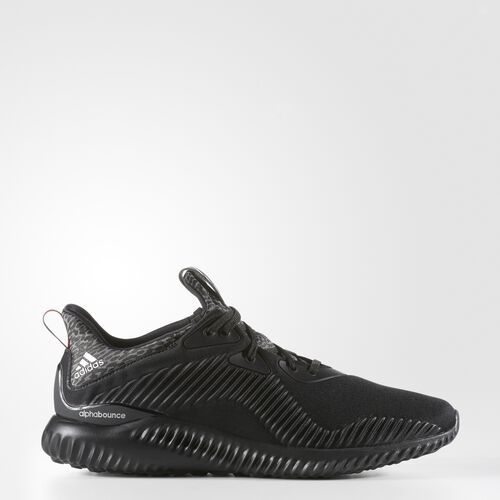 adidas - Alphabounce Shoes Core Black  /  Silver Metallic  /  Granite B42746