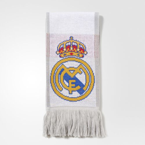 adidas - Real Madrid Scarf White  /  Clear Grey AA1057