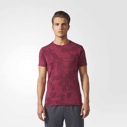adidas - FreeLift Elevated Tee Mystery Ruby BR4100
