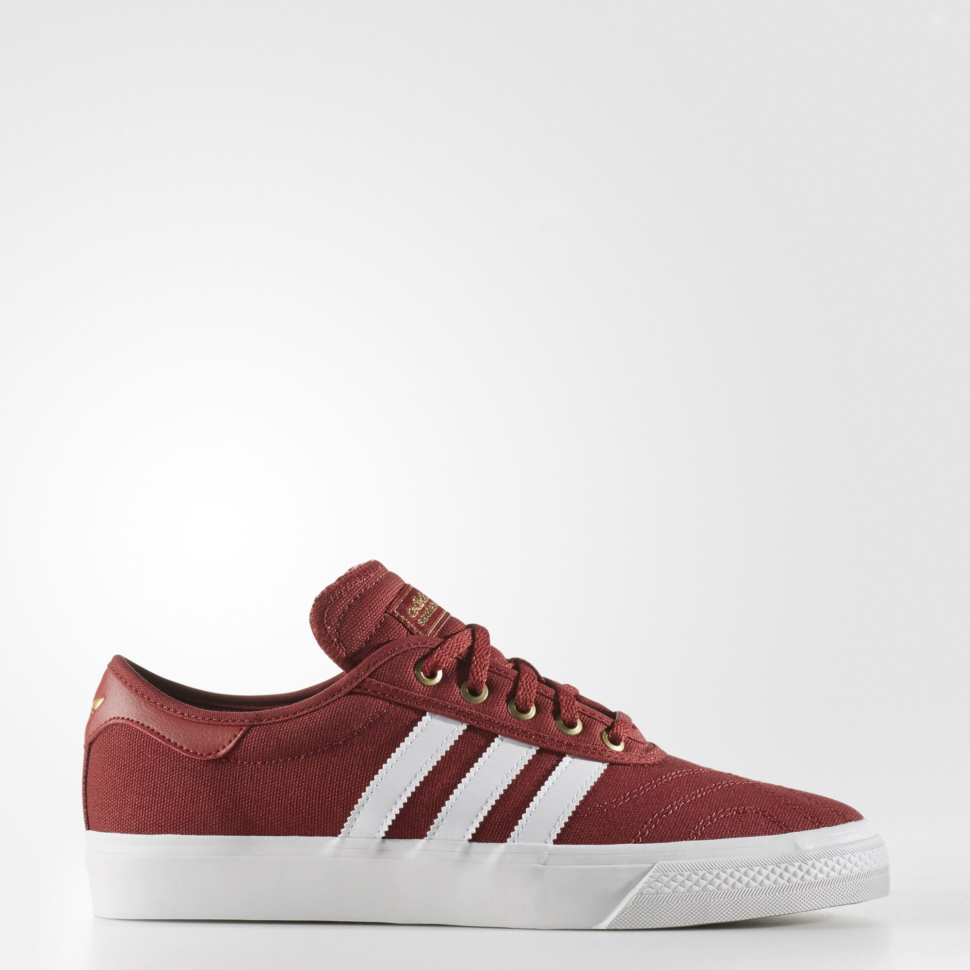 free shipping 987c2 8f2c0 adidas neo leather red gold