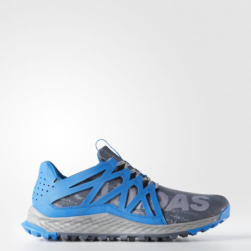 adidas - Vigor Bounce Shoes Grey  /  Onix  /  Shock Blue AQ7512
