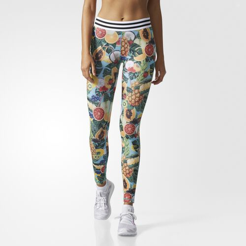 Techfit Tropical Smoothie-Print Tights