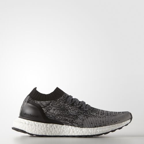 adidas - ULTRABOOST Uncaged Shoes Core Black  /  Charcoal Solid Grey  /  Metallic Gold BA8295