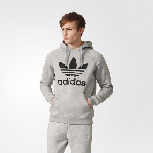 adidas - Trefoil Hoodie Medium Grey Heather  /  Medium Grey Heather BK5880