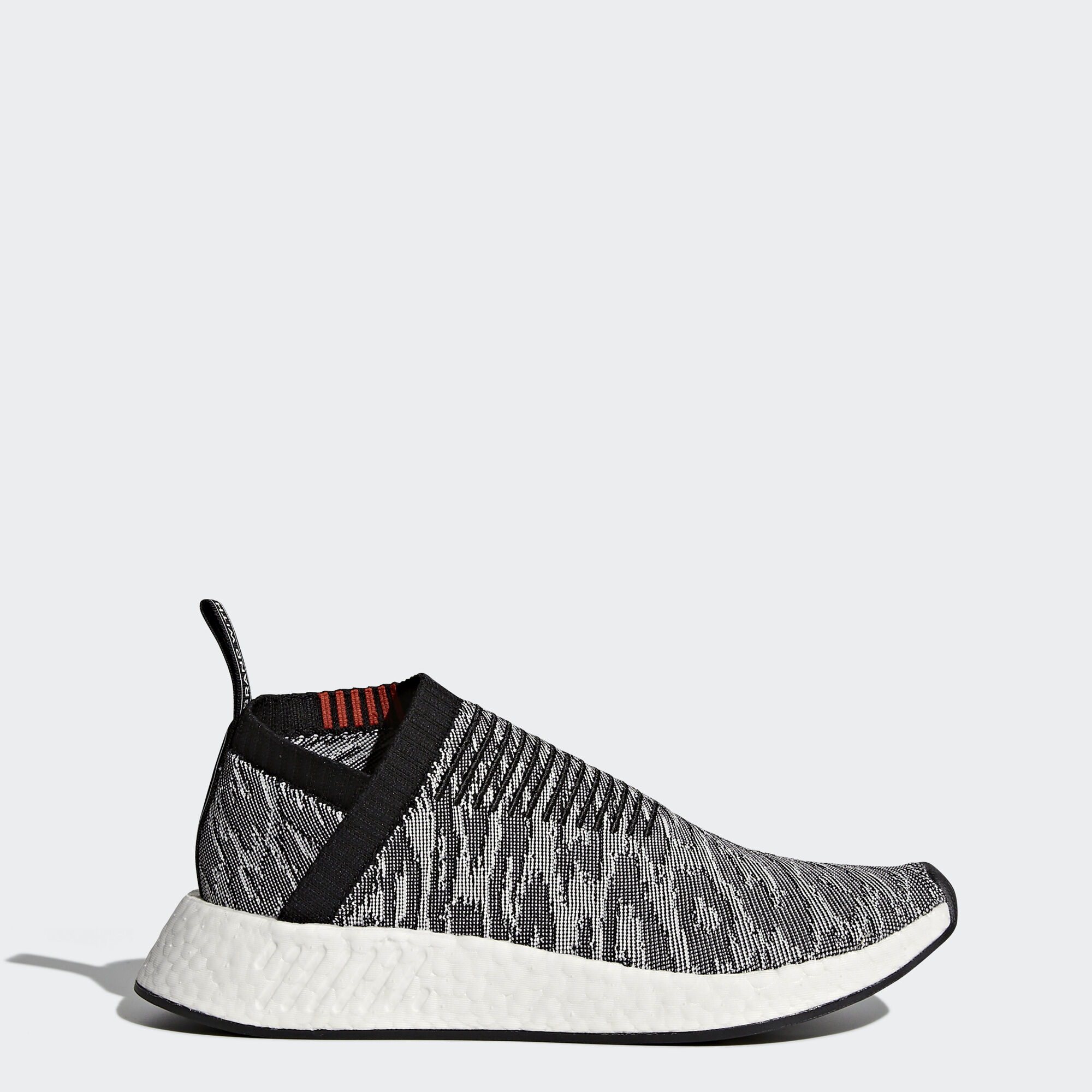 Adidas NMD_R2 Shoes BY9914 Crystal White/Crystal White/Black