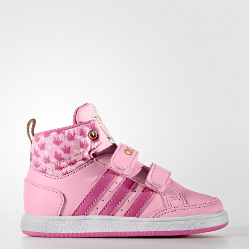 adidas - Hoops Mid Shoes Light Pink  /  Pink  /  Metallic Gold AW4127