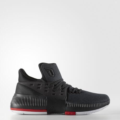 adidas - Dame 3 Shoes Utility Black  /  Black  /  Light Scarlet B49590