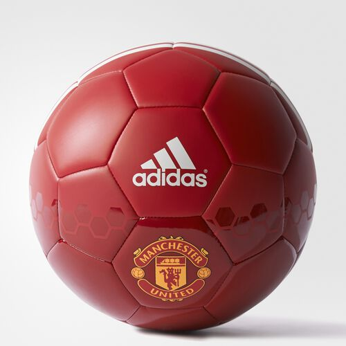 adidas - Manchester United FC Soccer Ball Power Red  /  Real Red  /  White AP0492
