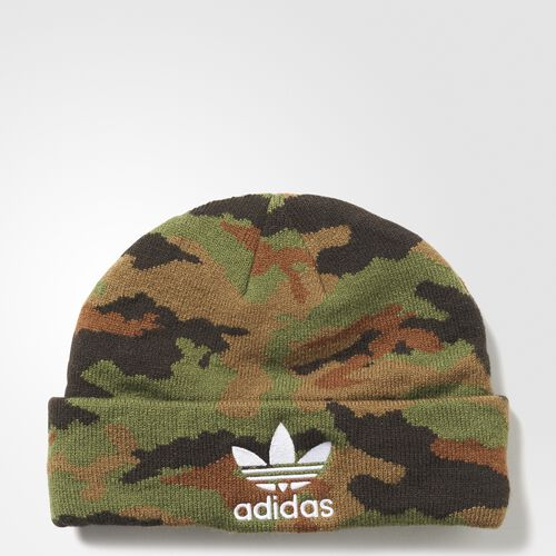 adidas - Camouflage Beanie Multicolor  /  White AY9060