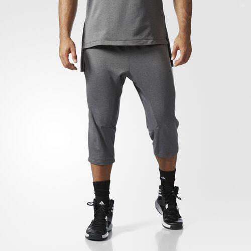 adidas - DAME 3/4 PANT Utility Black  /  Charcoal Solid Grey BP7481