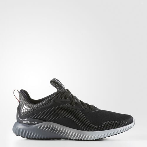 adidas - alphabounce Shoes Core Black  /  Silver Metallic  /  Granite B42709