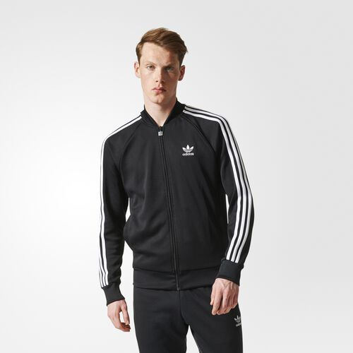 adidas - Superstar Track Jacket Black BK5921