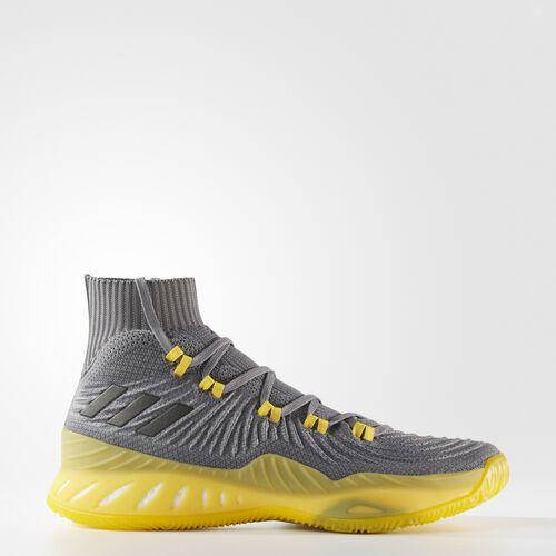 adidas - Crazy Explosive 2017 Primeknit Shoes Grey  /  Core Black  /  Grey CQ1396
