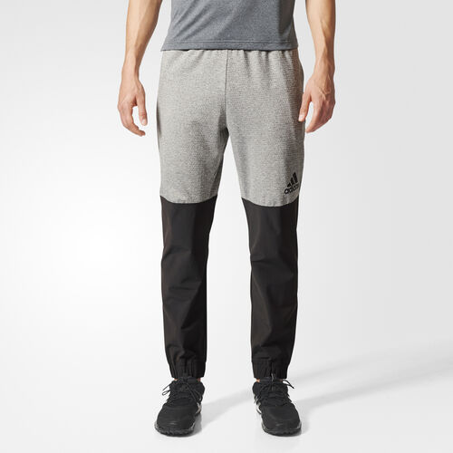 adidas - Extreme Workout Pants Charcoal Solid Grey  /  Utility Black BR8507