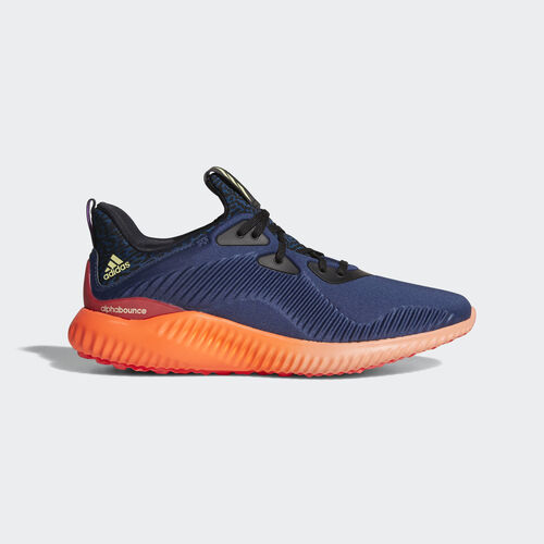 adidas - Alphabounce Shoes Mineral Blue  /  Ice Yellow B54201
