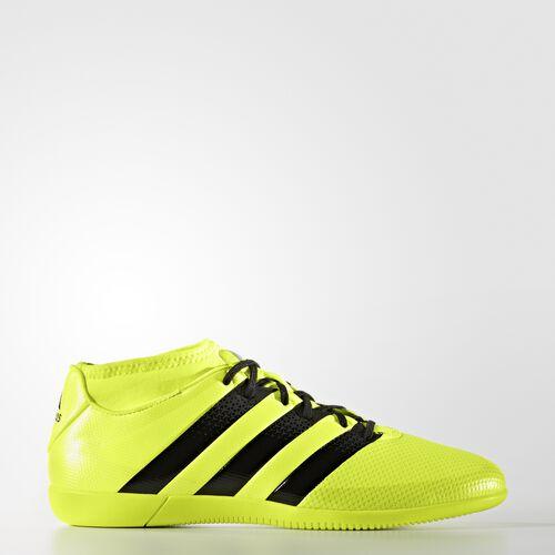 adidas - ACE 16.3 Primemesh Indoor Shoes Solar Yellow  /  Black  /  Metallic Silver AQ3419