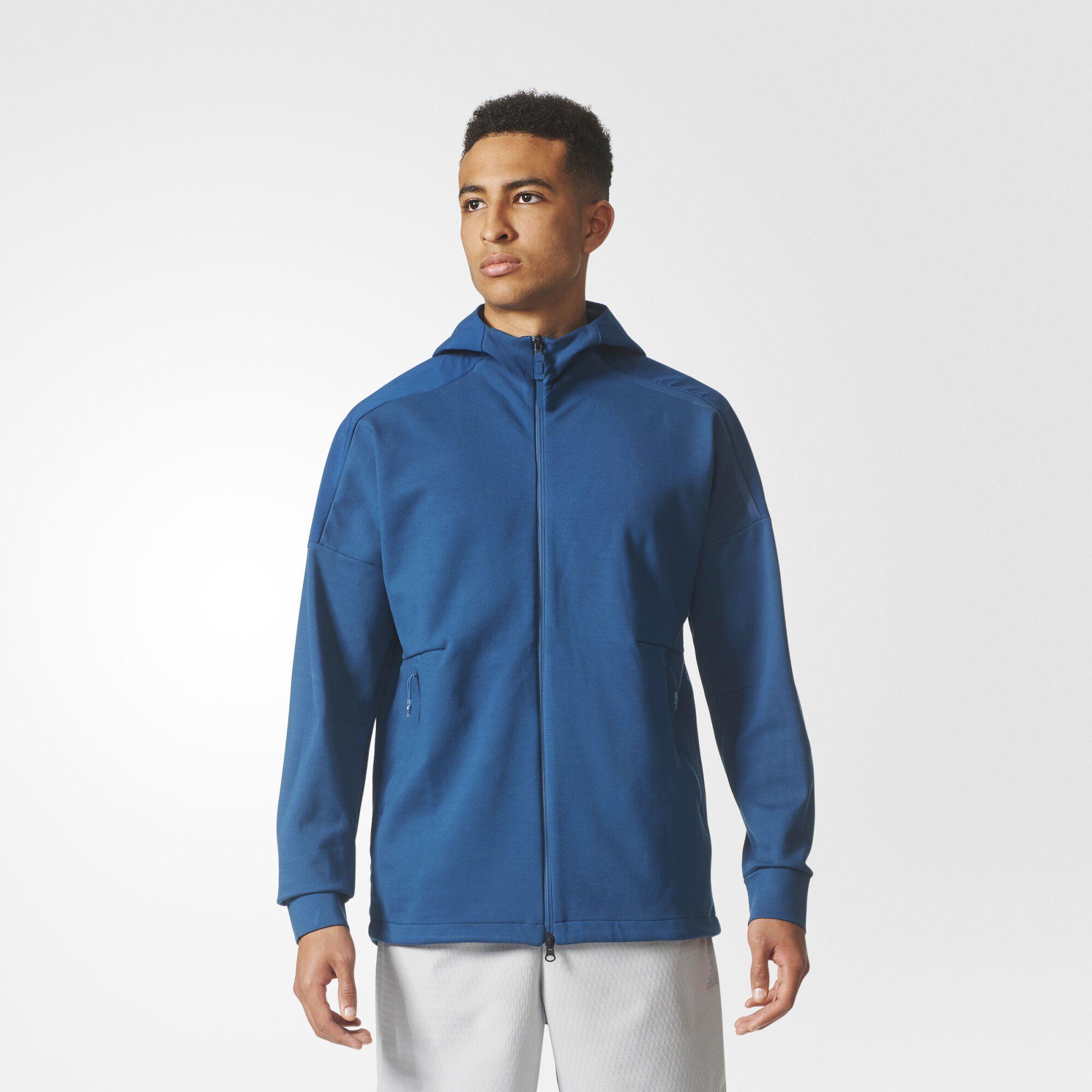 adidas zne blue hoodie