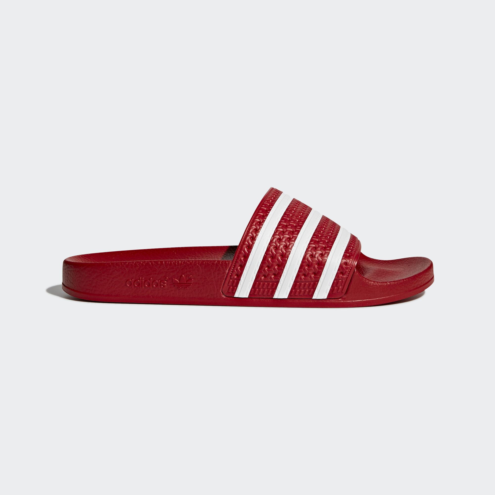 acheter des pantoufles Rouge escompté  > off47% escompté Rouge d'adidas cdf26b
