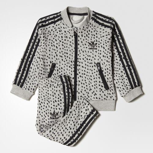 adidas - SST Set Medium Grey Heather  /  Black BQ4296