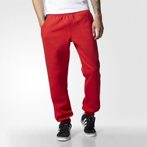adidas - Mélange Fleece Track Pants Scarlet B20221