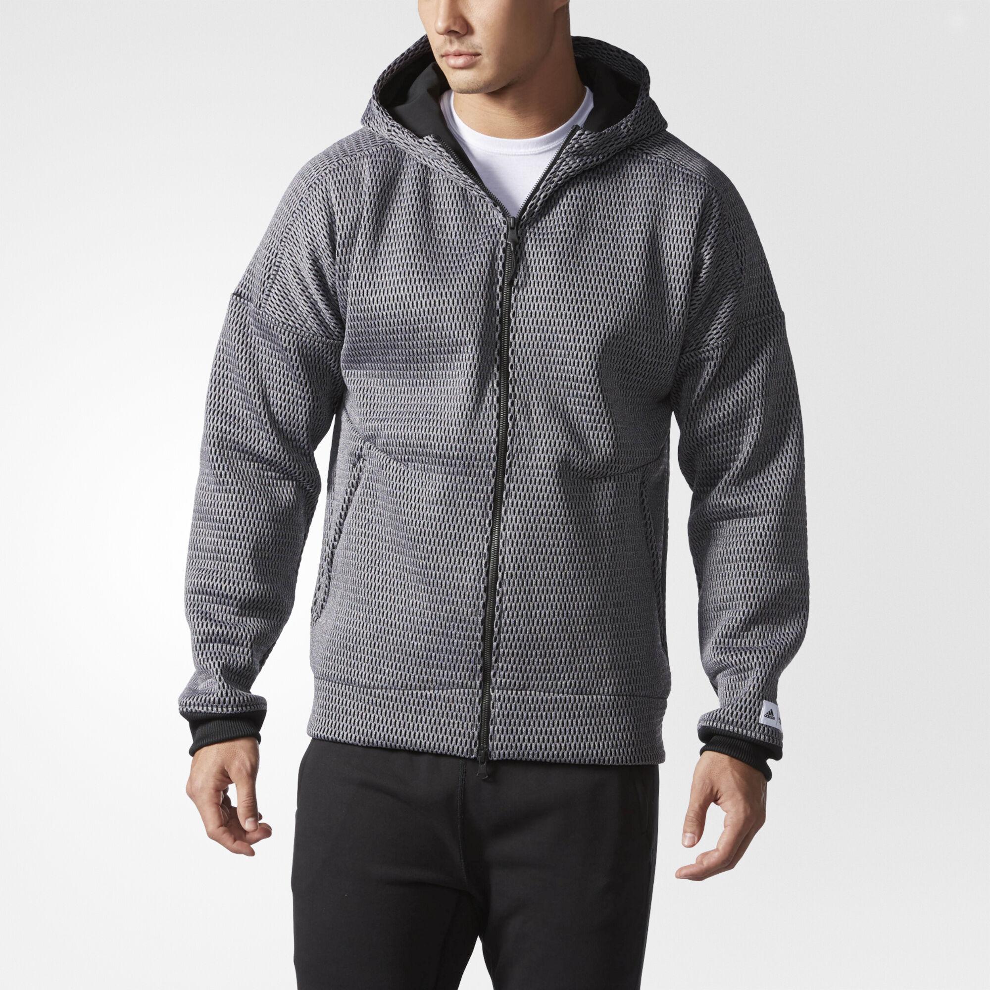 516780ef16 adidas zip up hoodie mens