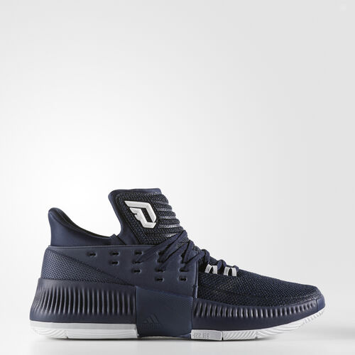 adidas - Dame 3 Shoes Collegiate Navy  /  Running White BY3190