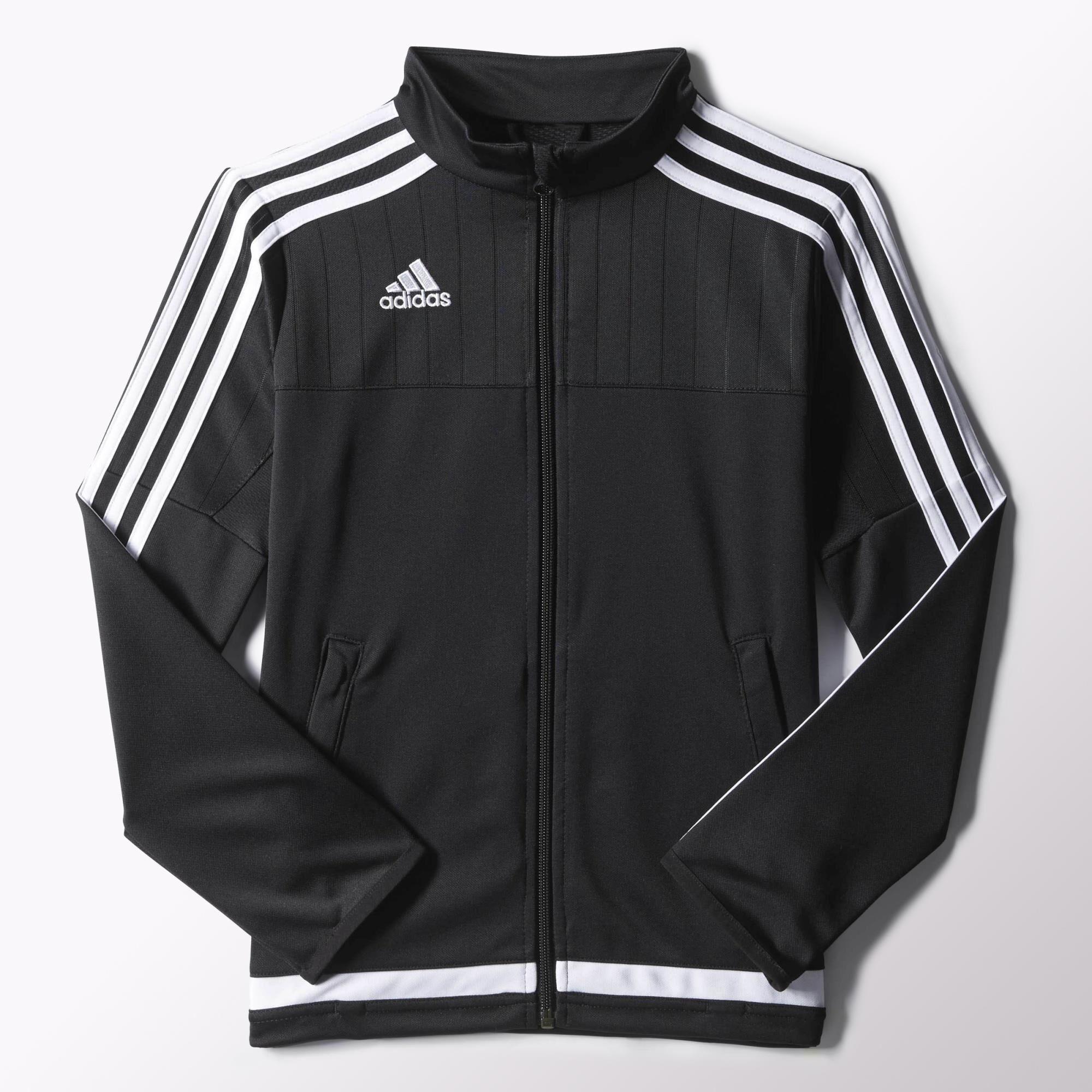 Adidas jacket - Adidas Tiro 15 Training Jacket Black White Black S22330