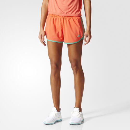 adidas - M10 3-Stripes Shorts Easy Coral  /  Core Green AZ2947