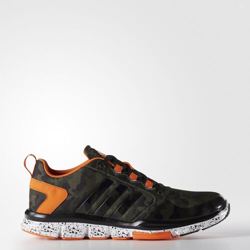 adidas - Speed Trainer 2.0 Camo Shoes Base Green  /  Base Green  /  Orange D70240