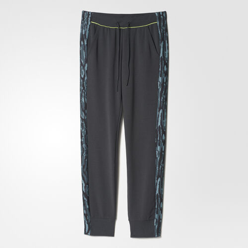 adidas - Track Pants Solid Grey  /  Electricity AY9813