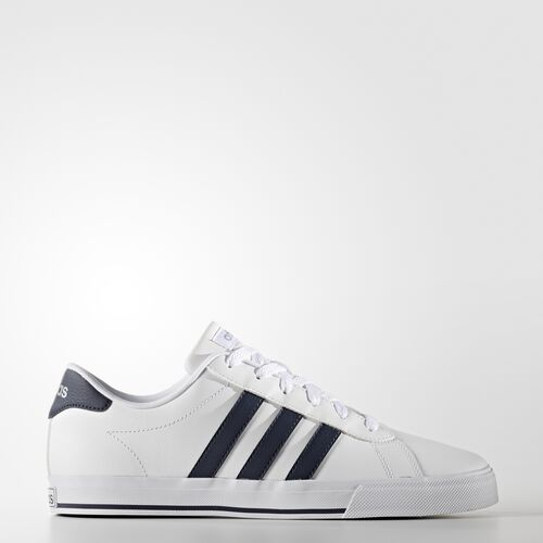 adidas - Daily Shoes Running White Ftw  /  Collegiate Navy  /  Matte Silver AW4570