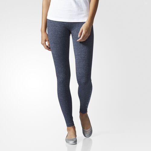 adidas - Curve Leggings Collegiate Navy Melange  /  Light Aqua AZ0034