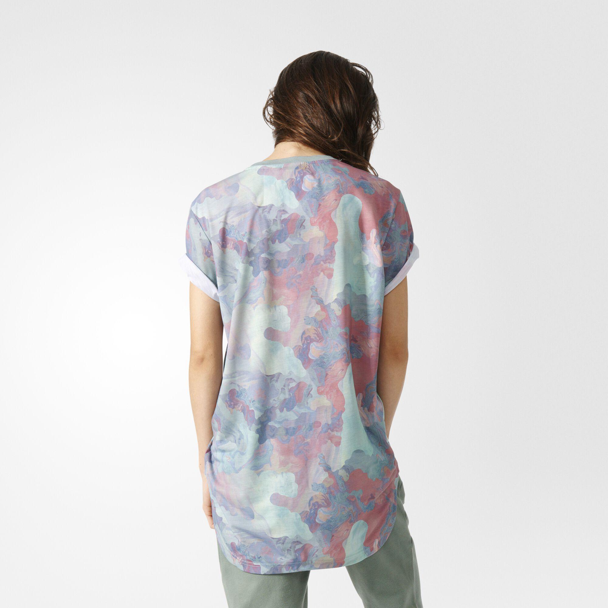 adidas flower shirt