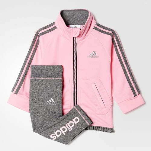 adidas - PRETTY IN PINK JKT SET Pink Glow BH6067