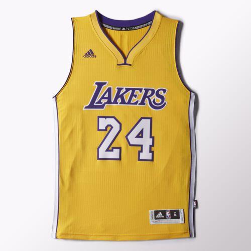 adidas - Lakers Home Swingman Jersey Gold H83042