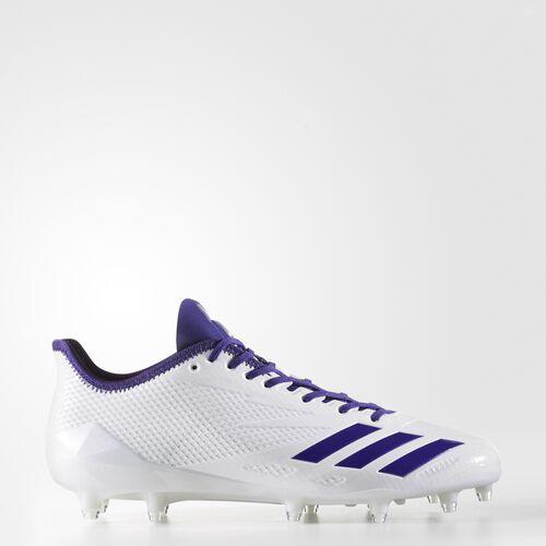 adidas - adizero 5-Star 6.0 Cleats Running White Ftw  /  Collegiate Purple  /  Collegiate Purple BW1086