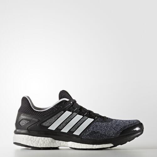 adidas - Supernova Glide 8 Shoes Core Black  /  Running White  /  Night BB4125