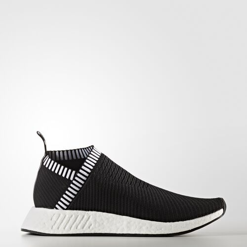 adidas - NMD_CS2 Primeknit Shoes Core Black  /  Core Black  /  Shock Pink BA7188