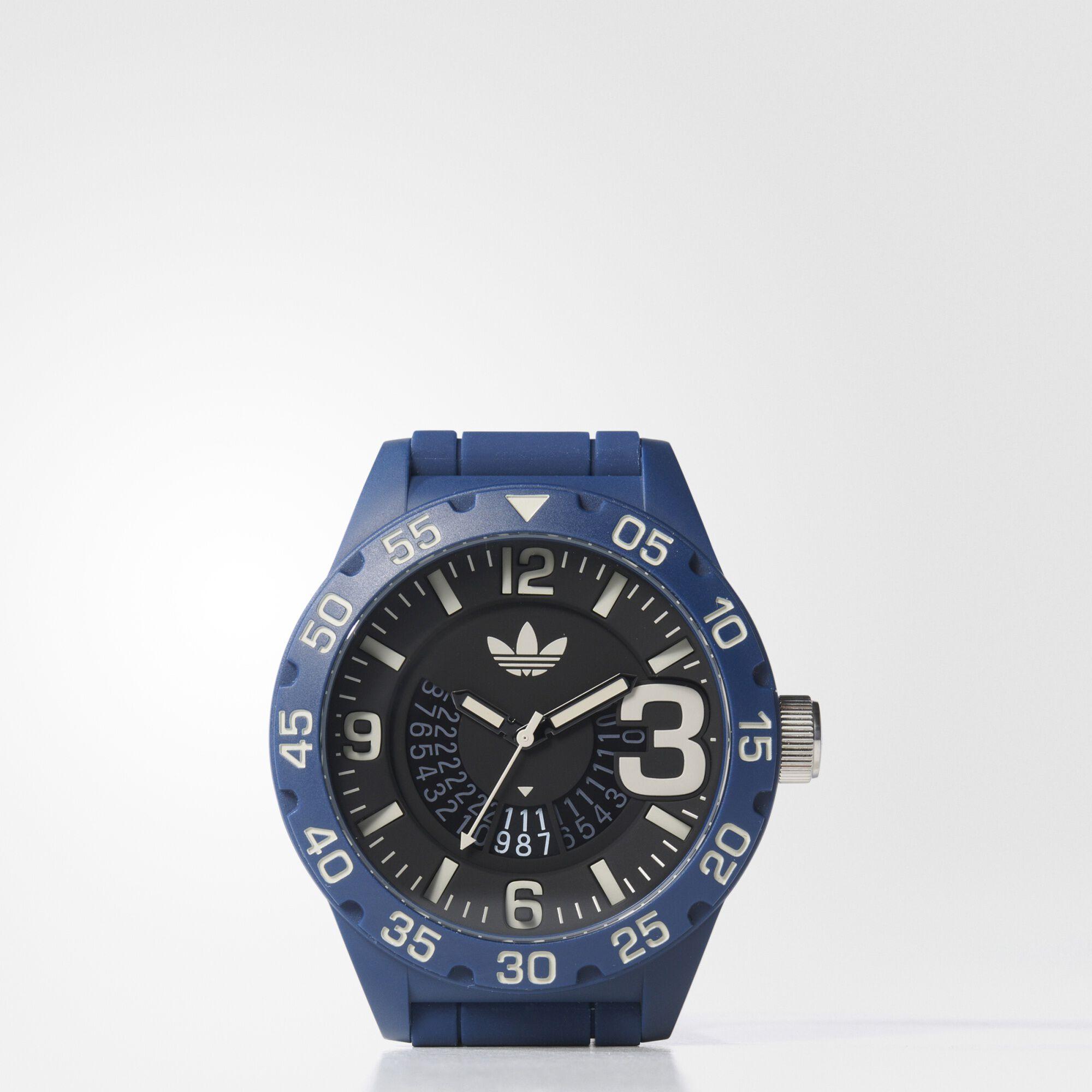 mens sports watch personal tracker fit smart adidas us adidas newburgh watch blue bi1322
